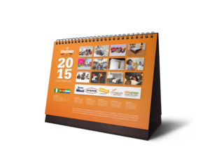 Vitafoam desktop calendar corporate promotional item