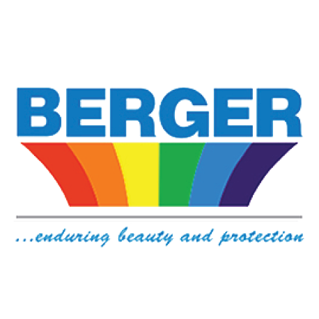 Berger paints branding design