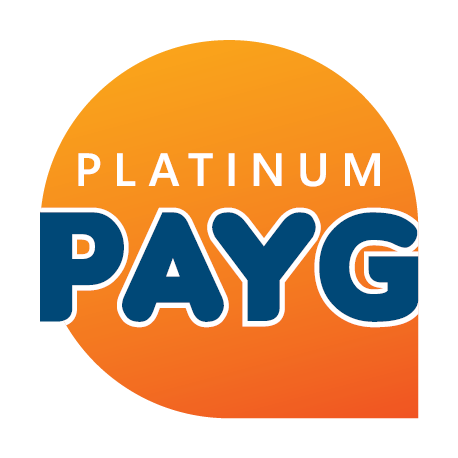 Platinum Payg logo by shared Insights