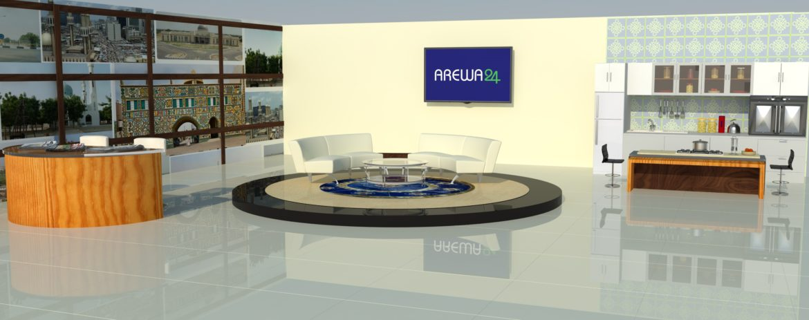 AREWA24 -Broadcast and TV Set Design - Breakfast Show